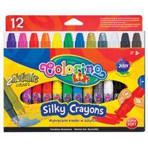 PATIO - Colorino pastelky gélové vysúvací SILKY 12 farieb