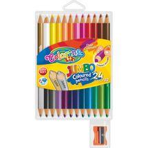 PATIO - Colorino pastelky Jumbo Duo 24 farieb