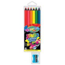 PATIO - Colorino pastelky Jumbo Neon 6 farieb