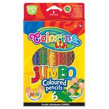 PATIO - Colorino pastelky Jumbo SMALL HANDS 6 farieb