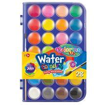 PATIO - Colorino vodové farby 28mm 24 farieb