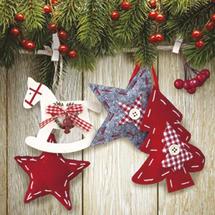 PAW - Papierové servítky Christmas & Stars