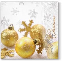 PAW - Papierové servítky Glittering Christmas