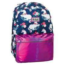 PLAY BAG - Školský batoh POP School, Pattern Magic Unicorn