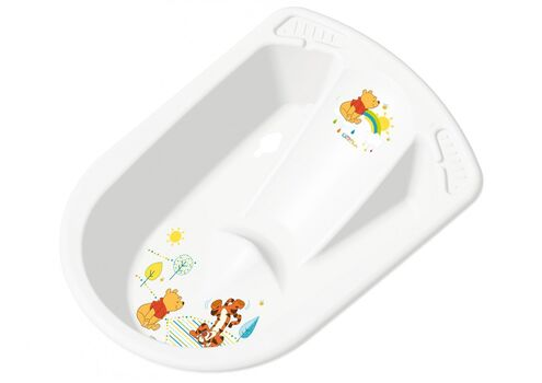 PRIMA BABY - Anatomická vanička Winnie Pooh - Biela