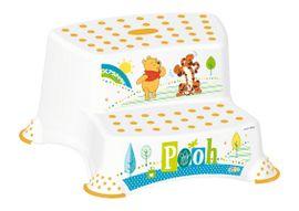 PRIMA BABY - Dvojstupienok k WC / umývadlu Winnie Pooh - biela