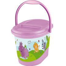 PRIMA BABY - Kôš na plienky Hippo - Svetlo fialový