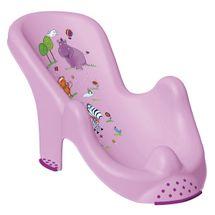 PRIMA BABY - Lehátko do vane Hippo - sv.fialová