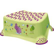 PRIMA BABY - Schodík k umývadlu/WC Hippo - zelený