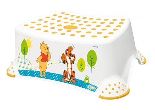 PRIMA BABY - Schodík na WC/umývadlo Winnie Pooh - biely