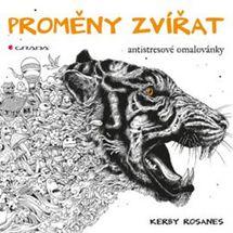 Proměny zvířat - antistresové omalovánky - Rosanes Kerby