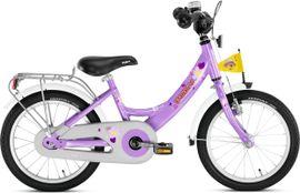 PUKY - Detský bicykel ZL 16 Alu - fialový