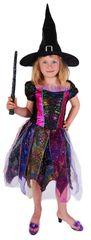 RAPPA - Farebný kostým čarodejnice veľ. S