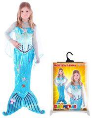 RAPPA - Karnevalový kostým morská panna s plutvou - M