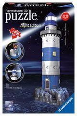 RAVENSBURGER - Maják V Príboji (Nočná Edícia) 3D 216D