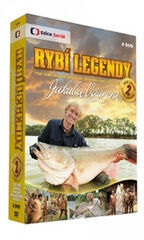 Rybí legendy Jakuba Vágnera 2.díl - 6 DVD
