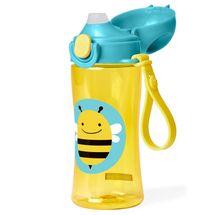 SKIP HOP - Zoo Fľaša na vodu športová s uzáverom - Včielka 3+