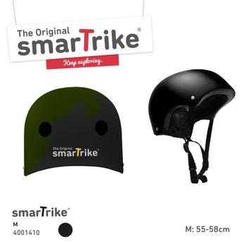 SMART TRIKE - Detská prilba, M - čierna