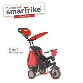 SMARTRIKE - Trojkolka Dazzle 5v1 červená 10m+