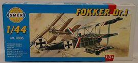 SMĚR - MODELY - Fokker Dr 1 1:48