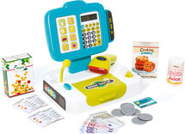 SMOBY - 350104 Elektronická pokladňa s čítačkou kódov