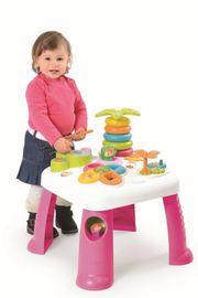 SMOBY - Cotoons Multifunkčný Hrací Stôl Ružový