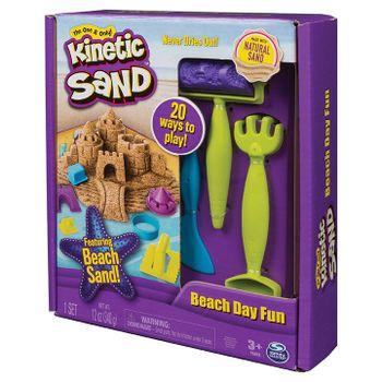SPIN MASTER - Kinetic Sand Plážová Hracia Súprava S Náradím