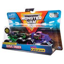 SPIN - Monster Jam Zberateľské Autá Dvojbalenie 1:64 - Mix