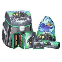 SPIRIT - Školská taška - 5-dielny set, START Monster Truck
