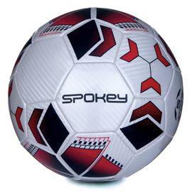 SPOKEY - AGILIT Futbalová lopta bielo-červená vel.4