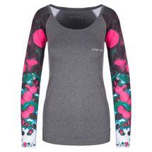 SPOKEY - BALLS, fitness triko. dlhý rukáv, šedé, vel. L