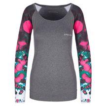 SPOKEY - BALLS, fitness triko. dlhý rukáv, šedé, vel. M