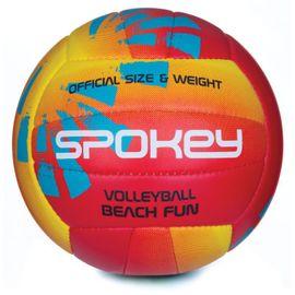SPOKEY - BEACH FUN Volejbalová lopta oranžová č.5