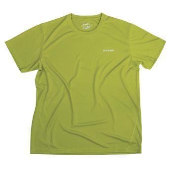 SPOKEY - BECOOL 20 MAN Pánské funkčné tričko zelené XXL