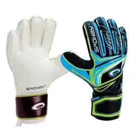 SPOKEY - CONTACT II  brankárske rukavice černo - modré č. 10