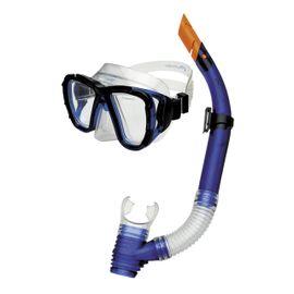 SPOKEY - CORAL Junior - Sada okuliare + šnorchel modré