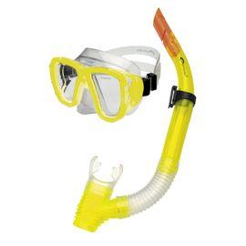 SPOKEY - CORAL - Sada okuliare + šnorchel žlté