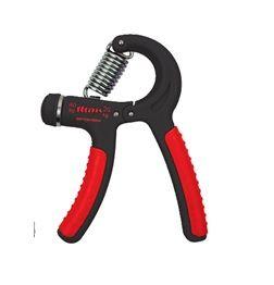 SPOKEY - CRAMP II Posilňovač rúk 20-40 kg s reguláciou, červený