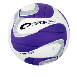 SPOKEY - CUMULUS II Volejbalová lopta fialová