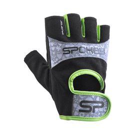 SPOKEY - ELENA II Dámské Fitness rukavice  vel.S limeta
