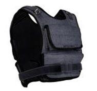 SPOKEY - ENDOW vesta so závažím 20 kg čierna
