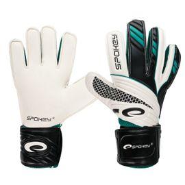 SPOKEY - FORCE brankárske rukavice bielo-čierne roz.9