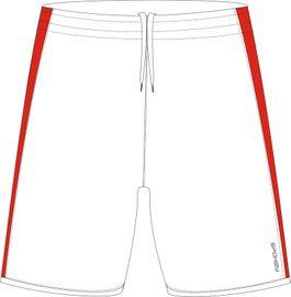 SPOKEY - Fotbalové šortky biele veľkosť  L