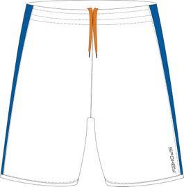 SPOKEY - Fotbalové šortky bielo-modré  veľkosť  XL