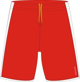 SPOKEY - Fotbalové šortky červeno-biele veľkosť  XXL
