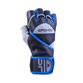 SPOKEY - GANTLET II   Fitness rukavice vel. M čierno-modré