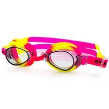 SPOKEY - JELLYFISH-Detské plavecké okuliare  ružovo-žlté