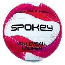 SPOKEY - LAUFER volejbalová lopta bielo ružová vel. 5