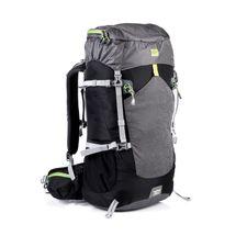 SPOKEY - LUKLA Batoh trekkingový 50 l, čierna-šedá-zelená
