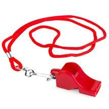 SPOKEY - MAYDAY-Píšťaľka plastová červená